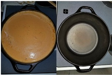 before and after roasted tomato soup